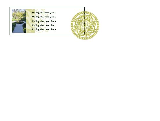 Gift Card Envelope (impression)
