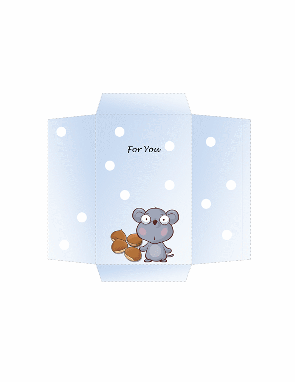 Money Envelope (mouse Design)