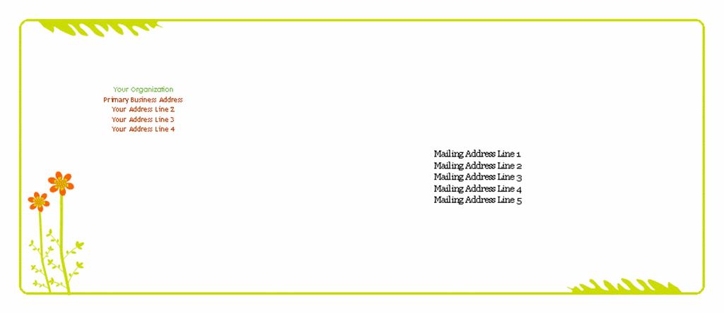 Envelope (summer Design)