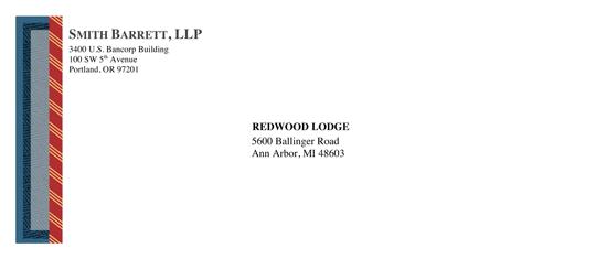 Envelope (legal Classic Design)