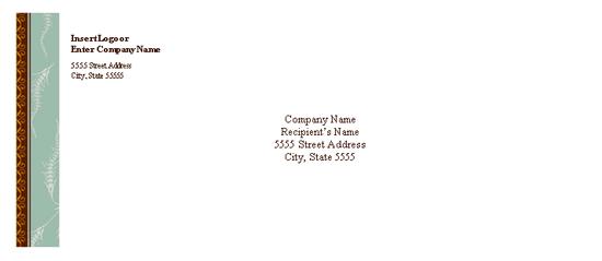 Envelope (trendy Eclectic Design)