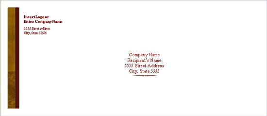 Envelope (traditional Elegance Design)