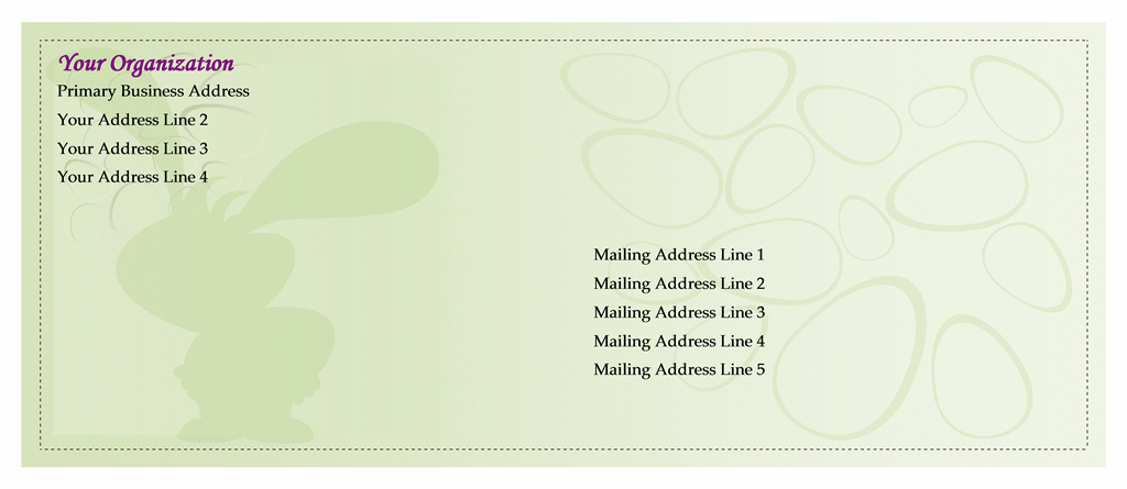 Small Envelope Templates to Download for Free