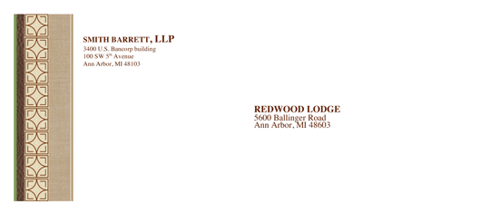 Download envelope legal chic design free envelope for Legal size envelope template
