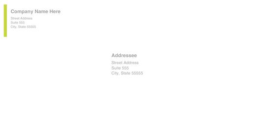 Envelope (modern Elegance Design)