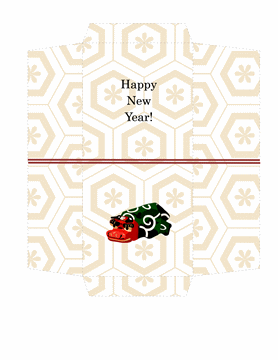 Printable Traditional Money Envelopes Design