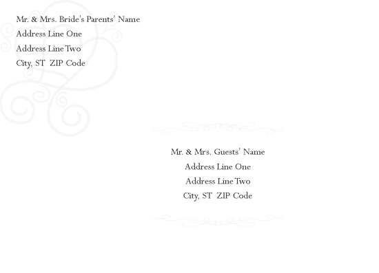 Download engagement bridal shower invitation envelope for Envelope template word 2013