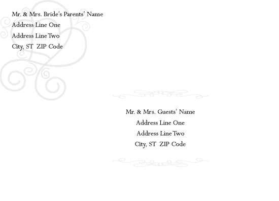 Download free invitation envelope templates for microsoft for Word 2013 envelope template