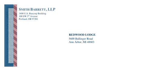 Download envelope legal classic design free envelope for Word 2013 envelope template