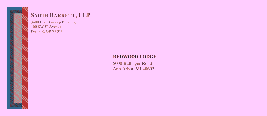 Download envelope legal classic design free envelope for Legal size envelope template