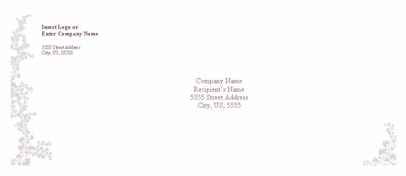 word 2013 envelope template - download free envelope weathered book design envelope