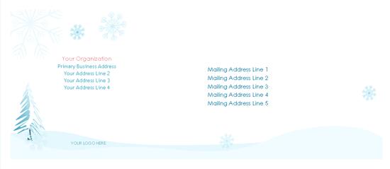 word 2013 envelope template - download envelope winter design free envelope templates