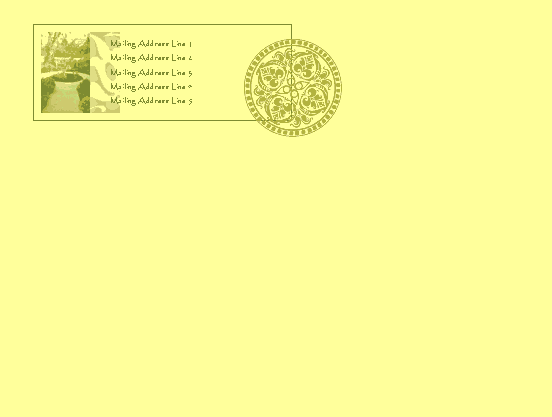 word 2007 gift certificate