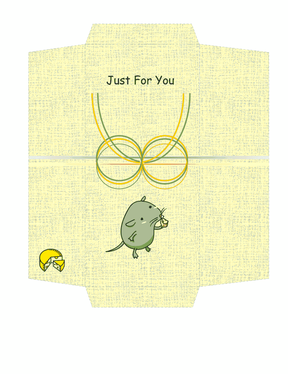 Envelope-template-word-2003- Money Envelope Template Free Download Cheese And Mouse Design