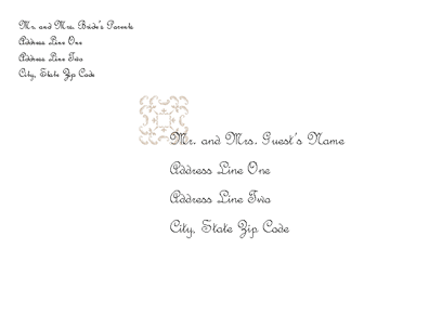 Envelope Invitation Template Aprilonthemarchco - Wedding invitation envelope template free